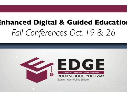How to Book Your Child's Fall Conference with EDGE