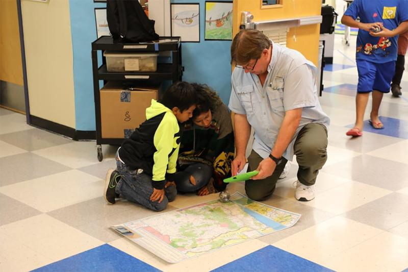 Indian Education at Weddle Elementary Oct. 2019