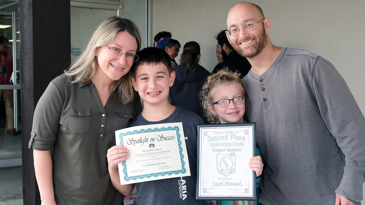 Statewide Spelling Champion 2019